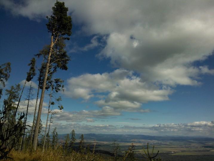 Uitzicht vanaf het tatragebergte