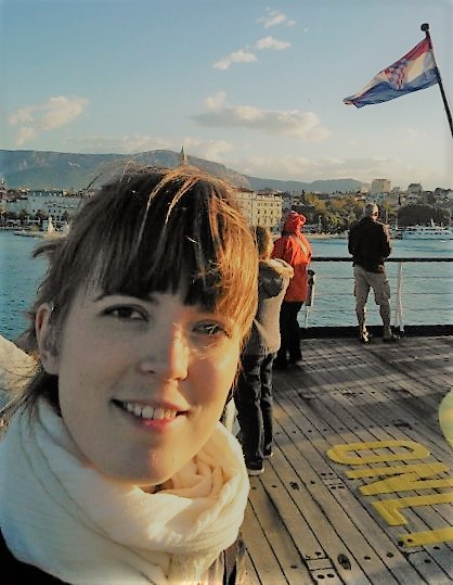 Ik op de boot naar Dubrovnik
