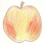 wellust - een appel met een rode blos