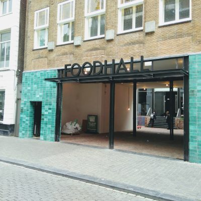 De ingang van FoodHall Breda