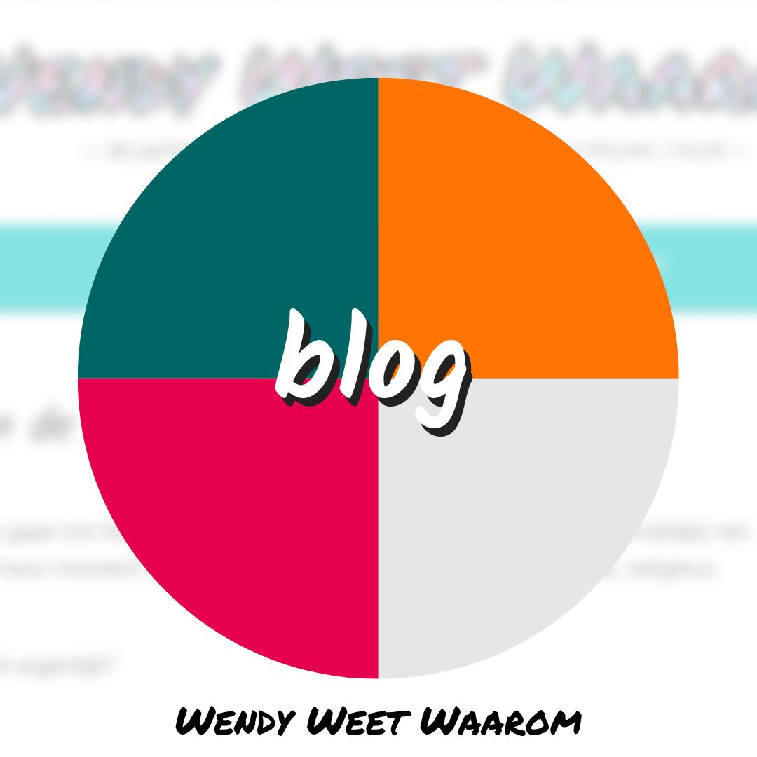 kleurenschema blog