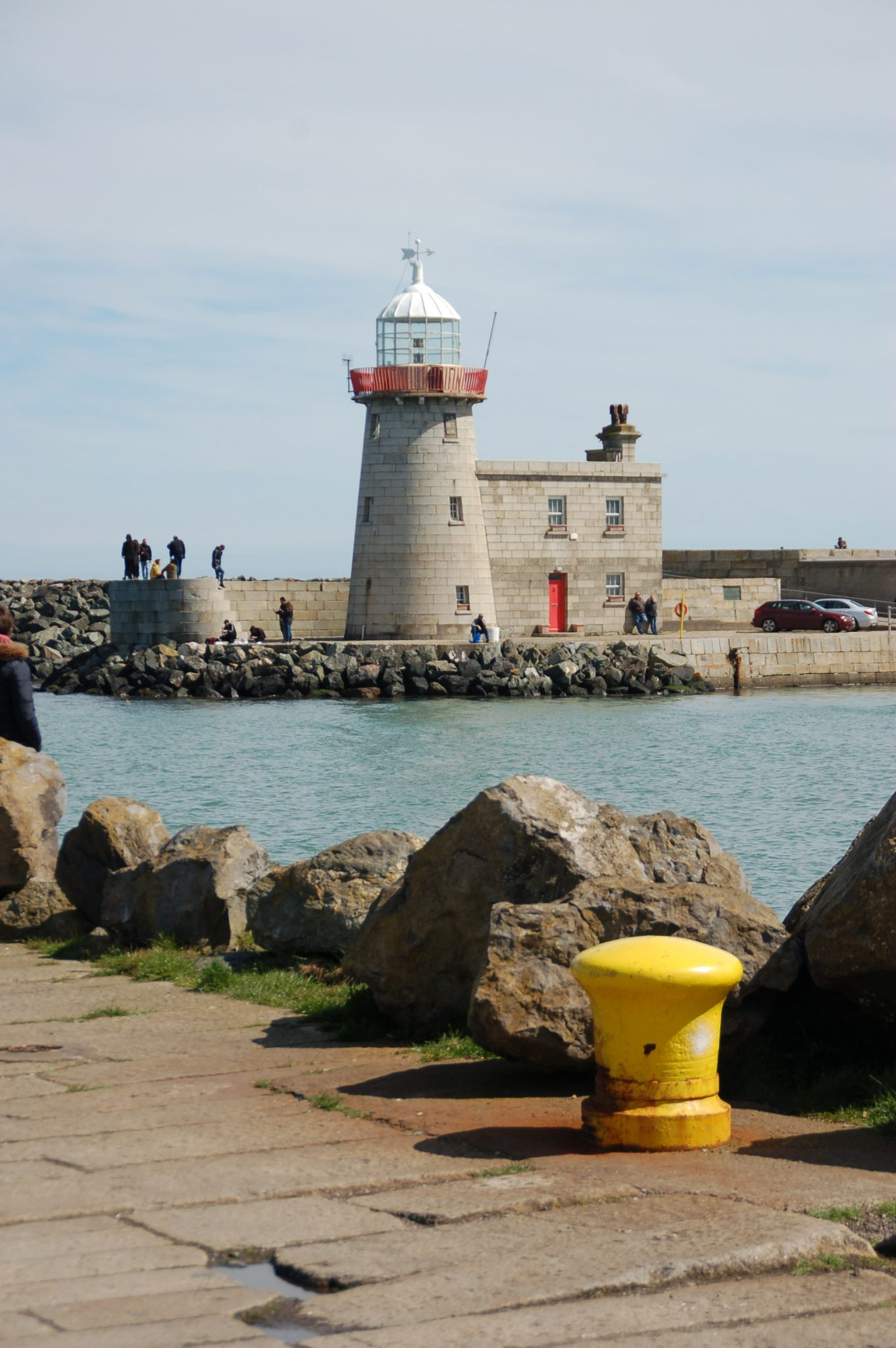 Vuurtoren in Howth, Ierland