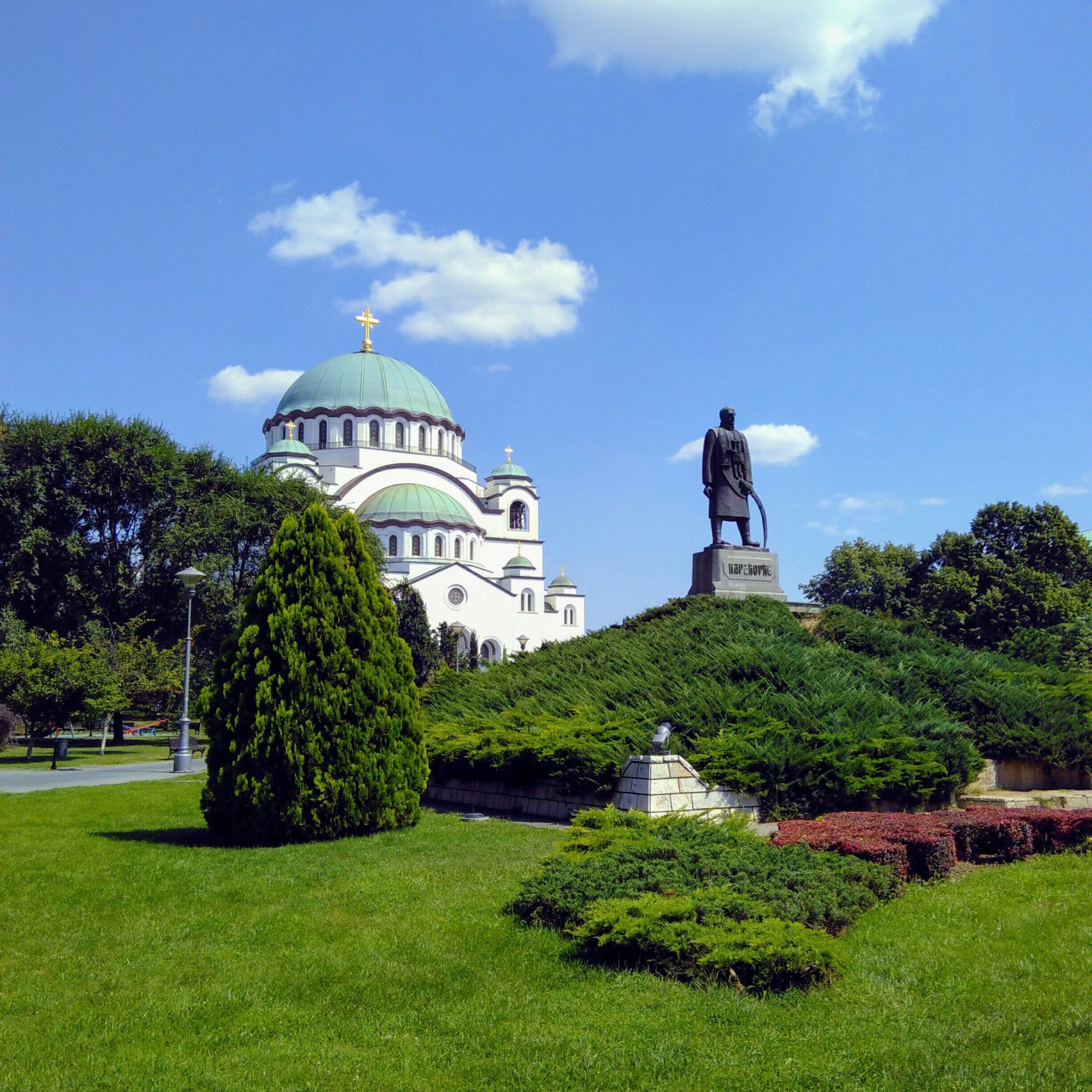 De Heilige Sava kerk in Belgrado kwam ik op één van mijn reizen tegen.