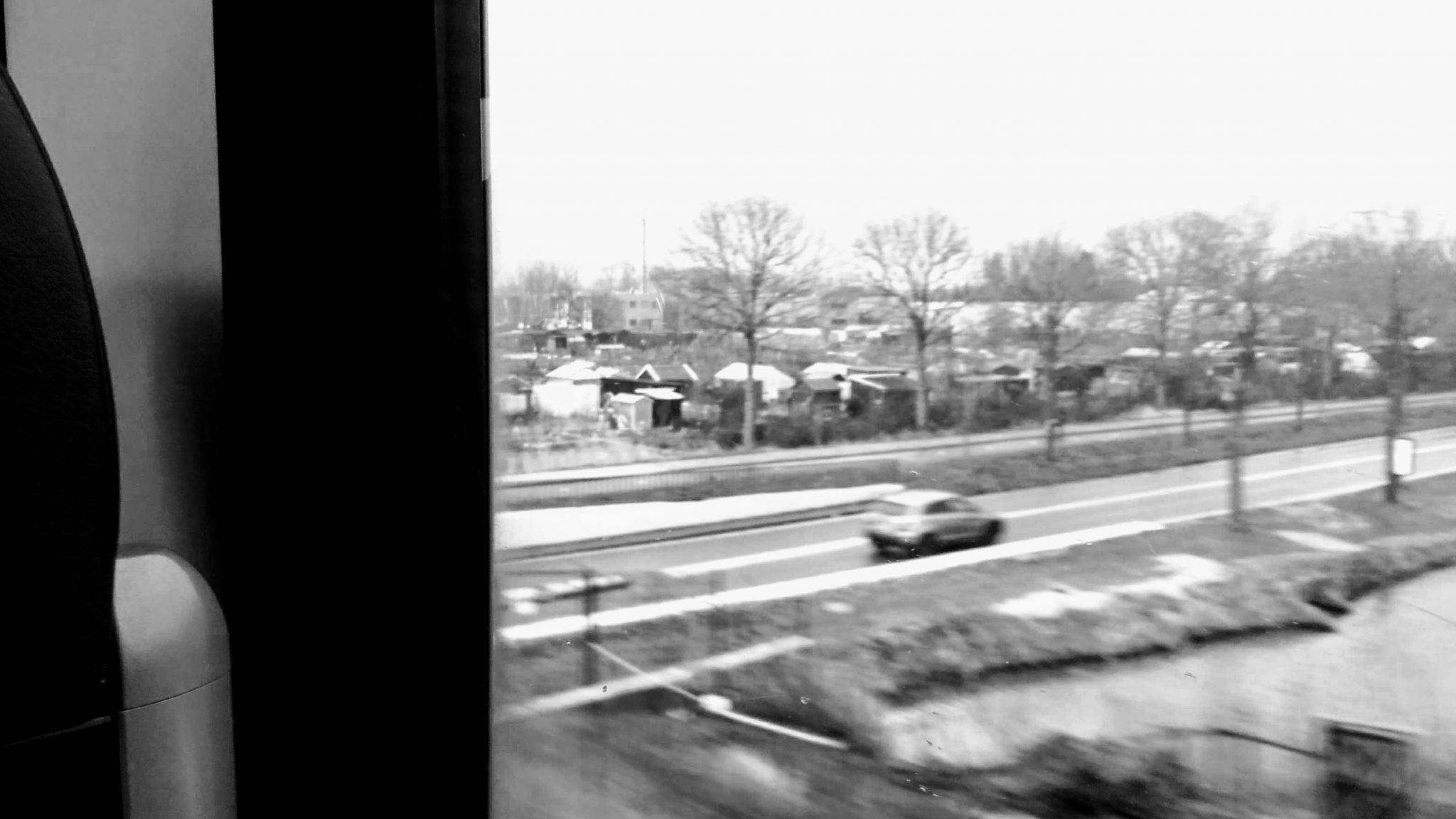een foto die ik nam vanuit een treintje op de MerwedeLingelijn.
