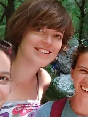 Een foto van mezelf, Wendy, in Italië