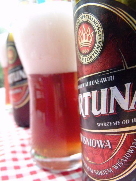 piwo wisniowe, Pools bier met zure kersen